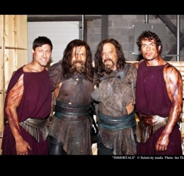 Immortals-end fight Alain mit Hollywood Größe Mickey Rourke