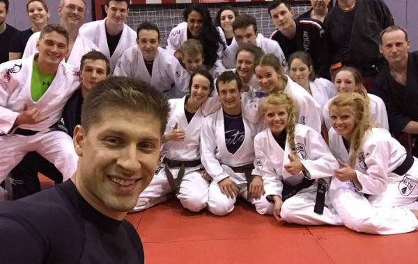 Donnerstag Training mit Alain Moussi